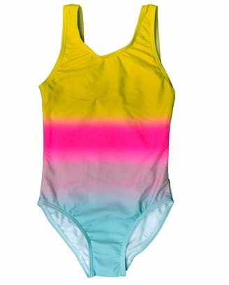 Name It Girls' NKFZANDRA One Piece Swimsuit