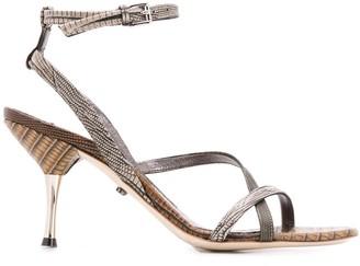 Dorothee Schumacher 95mm Lizard-Print Sandals