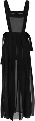 McQ Sheer Apron Style Dress