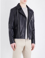 Corneliani Leather aviation jacket