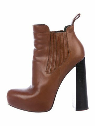 Alexander Wang Leather Chelsea Boots Brown