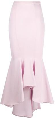Alexandre Vauthier Fishtail Maxi Skirt
