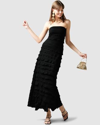 SACHA DRAKE - Women's Black Maxi dresses - Maddison Maxi Dress - Size One Size, 10 at The Iconic