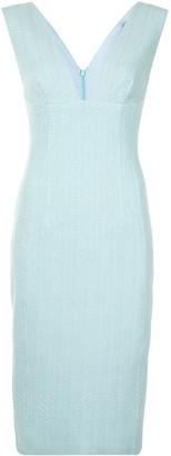 Manning Cartell Australia V-neck fitted dress
