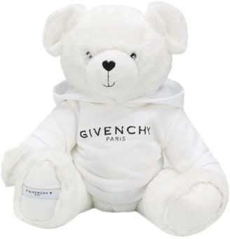 Givenchy Kids Teddy Bear In Logo-Print Hoodie