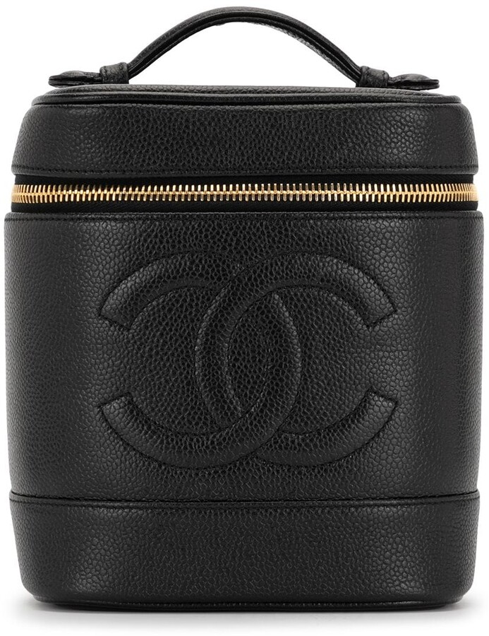Chanel Pre Owned 1997 CC cosmetic bag