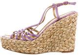 Saint Laurent Multistrap Slingback Sandals