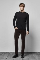 J Brand Tyler Velvet Slim Fit in Dark Roast