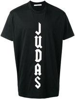 Givenchy Columbian-fit Judas print T-shirt - men - Cotton - XXS