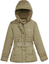 GUESS Hooded Puffer Jacket, Big Girls (7-16)