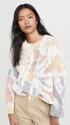 Madewell Tie Dye Westford Pullover Sweater