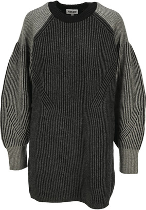 Kenzo Ribbed Sweater Dress
