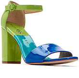 Katy Perry The Liz Color-Blocked Patent Sandals