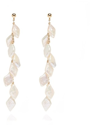 Coco Mango Jewellery Lola Pearl Waterfall Earrings