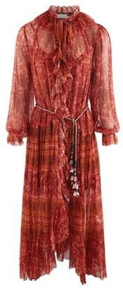 Zimmermann Long Edie silk dress