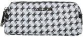 Lollipops Geometric Imprint Pencil Case BLACK