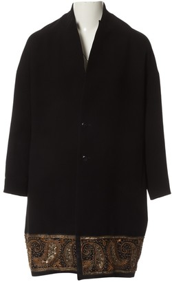 Y's Black Polyester Coats