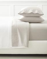 Serena & Lily Ticking Stripe Sheet Set - Clay