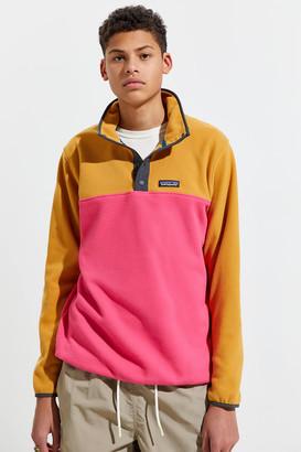 Patagonia Micro-D Snap T Quarter-Button Fleece Sweatshirt