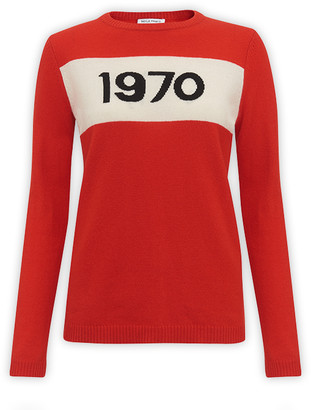 Bella Freud 1970 Red Jumper - S - Red
