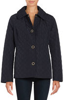 Anne Klein Long-Sleeve Quilted Jacket