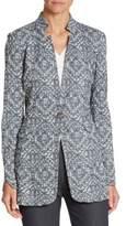 St. John Jacquard Knit Jacket