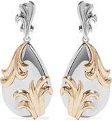 Oscar de la Renta Gold and silver-tone earrings