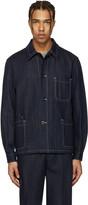 Paul Smith Navy Denim Worker Jacket