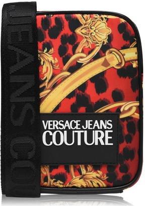 Versace Logo Stamp Bag