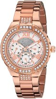 GUESS GUESS? Women's U0111L3 Sparkling -Tone Bracelet Watch