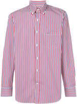 Paul & Shark striped logo shirt