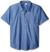 Lrg Men's Big & Tall Scattered Short-Sleeve Woven Shirt