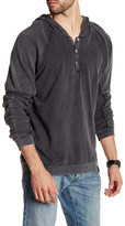 Burnside Long Sleeve Hooded Shirt