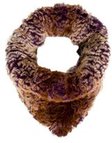 Glamour Puss Glamourpuss Dyed Fur Snood w/ Tags
