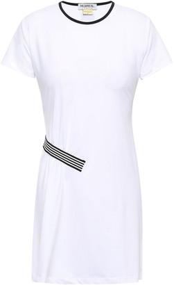 Monreal London Striped Stretch Mini Dress
