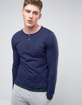 Tommy Hilfiger Icon Long Sleeve Top In Navy