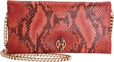 Gryson OH by Joy Snakeskin-Stamped Crossbody Wallet