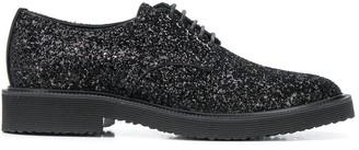 Giuseppe Zanotti glitter Oxford shoes