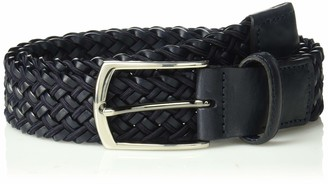 Trafalgar Men's Braided Leather Belt