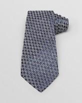 Armani Collezioni Texture Checker Classic Tie
