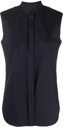 Odeeh mandarin-collar sleeveless shirt