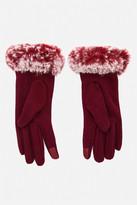 Fashion to Figure Fiona Faux Fur Cuff Tech Gloves