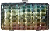 Jessica McClintock Noelle Quilted Mesh Clutch