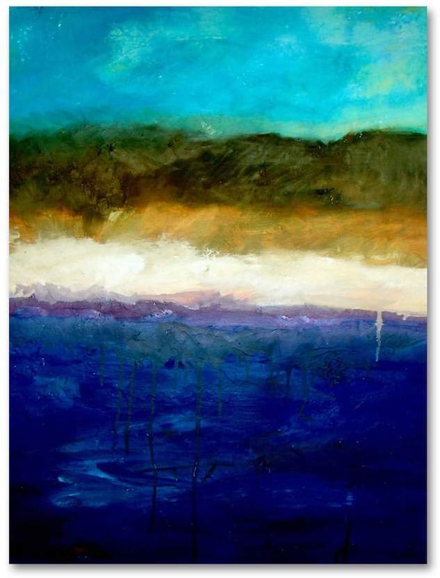 Kohl's Abstract Dunes Study Canvas Wall Art by Michelle Calkins