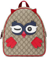 Gucci Kids Children's owl backpack