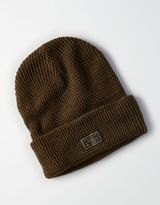 American Eagle Outfitters AE Reversible Waffle Beanie
