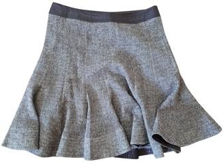 Paule Ka Brown Linen Skirt for Women