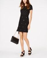 Michael Kors Michael Studded Sheath Dress, Regular & Petite