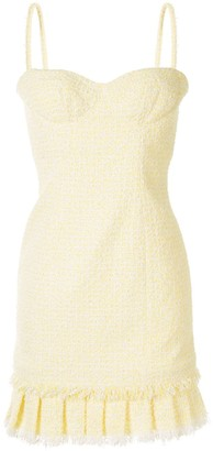 Paule Ka Tweed Mini Dress