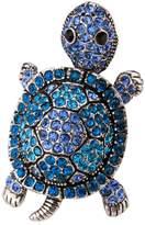 Thierry Mugler Angel Jewelry Women's Crystal Turtle Stretch Rings shaky head legs